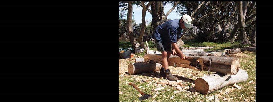Traditional bush timber skills