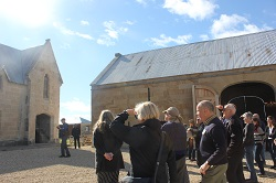 Tas 2018 Symposia Field Trip – original barn and stables at Shene